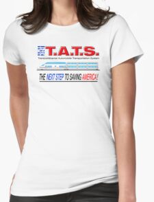 T.A.T.S. - Transcontinental Automobile Transportation System Womens Fitted T-Shirt