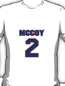 National baseball player Benny McCoy jersey 2 T-Shirt