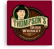 Thompson's Whiskey Canvas Print