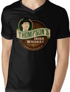 Thompson's Whiskey Mens V-Neck T-Shirt