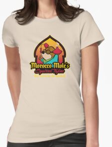 Morocco Mole's Squirrel Tajine Womens Fitted T-Shirt