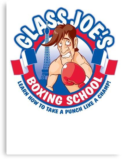 Glass Joe's Boxing School by Grady