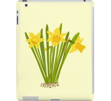Beautiful Daffodils iPad Case/Skin