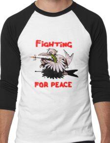 Fighting For Peace (4) Men's Baseball ¾ T-Shirt