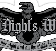The Night's Watch Sticker