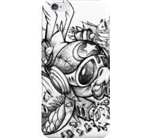 War Bird Doodle iPhone Case/Skin
