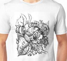 War Bird Doodle Unisex T-Shirt