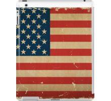 US Flag VINTAGE iPad Case/Skin