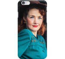 A Vintage world war 2 singer  iPhone Case/Skin