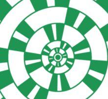 Mandala 1 Green With Envy  Sticker