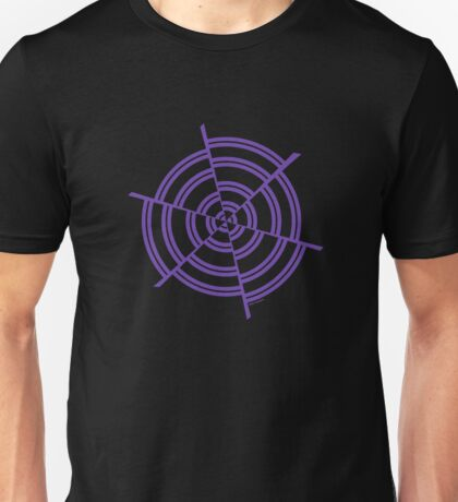 Mandala 2 Purple Haze  Unisex T-Shirt