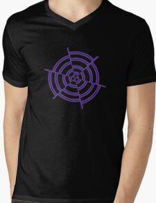 Mandala 2 Purple Haze  Mens V-Neck T-Shirt