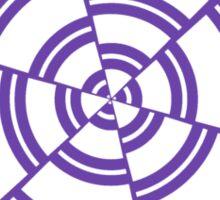 Mandala 2 Purple Haze  Sticker