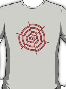 Mandala 2 Colour Me Red  T-Shirt