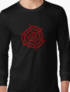 Mandala 2 Colour Me Red  Long Sleeve T-Shirt