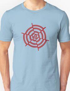 Mandala 2 Colour Me Red  Unisex T-Shirt