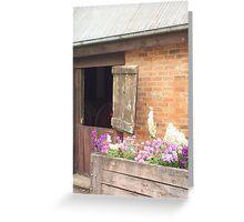 Winery cellar door Greeting Card