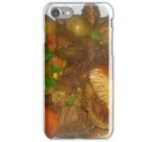 Beef Stew with Figs Red Wine and Olives iPhone Case/Skin