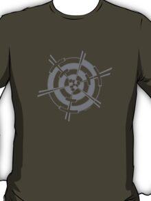 Mandala 3 Charcoal  T-Shirt
