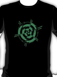 Mandala 3 Green With Envy  T-Shirt