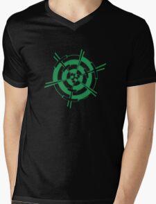 Mandala 3 Green With Envy  Mens V-Neck T-Shirt