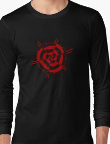 Mandala 3 Colour Me Red Long Sleeve T-Shirt