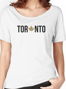 Toronto Maple | OVO Colorway Women's Relaxed Fit T-Shirt