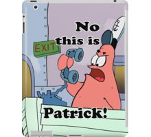 This is Patrick iPad Case/Skin