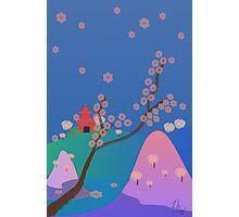 Hanami Season in Japan Photographic Print