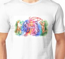 Dancing cats Unisex T-Shirt