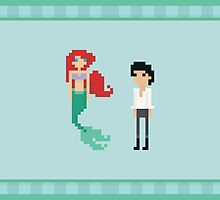 Ariel and Eric by Tinystuffz