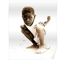Curious Boy Poster