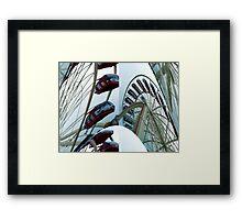 """""""The disappearing Bridlington Eye"""" Framed Print"""