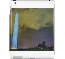 Washington Monument at Night iPad Case/Skin