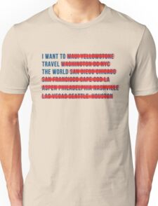 American Wanderlust Unisex T-Shirt