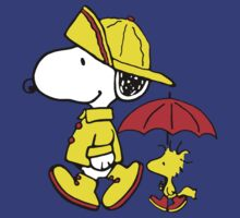 Snoopy and Woodstock by Nikaios