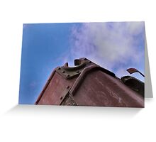 Rusting ship Greeting Card