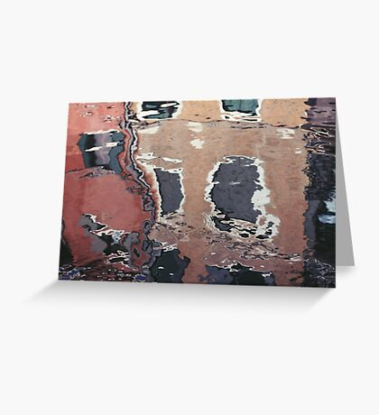 Reflections of Venice Greeting Card