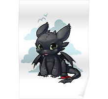 Chibi Toothless Poster