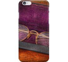 Optometry - Has anyone seen my glasses  iPhone Case/Skin