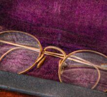 Optometry - Has anyone seen my glasses  Sticker
