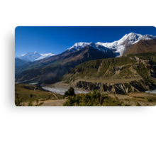 The Annapurna Mastif, Nepal Canvas Print