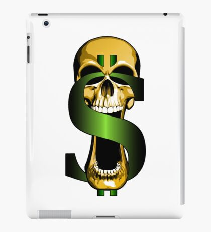 Bling Skull iPad Case/Skin