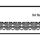 Art Nouveau mug by © Kira Bodensted