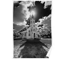 Painted Churches of Schulenburg, Texas Poster