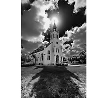 Painted Churches of Schulenburg, Texas Photographic Print