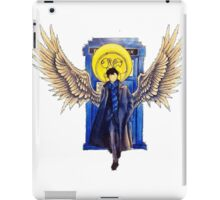 The Superwholock time-travel Detective iPad Case/Skin