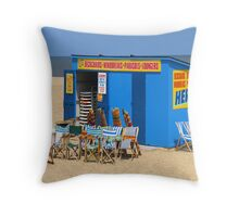 Where are the Visitors? Throw Pillow