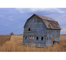 Blue Barn Photographic Print