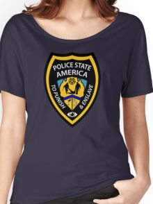 Police State America Women's Relaxed Fit T-Shirt